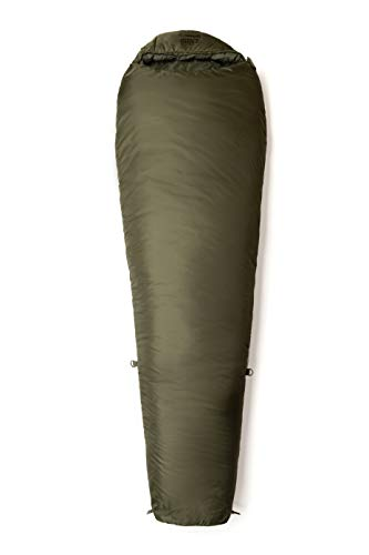 Snugpak Sleeping Bag Schlafsack Softie Elite 3, olivgrün, Left Side Zip