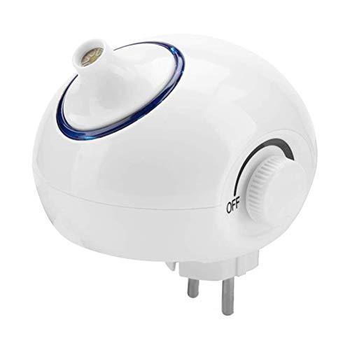 Kohyum Purificador de aire, generador de ozono, 5 W, purificador de aire ajustable, perfecto para el hogar, esterilizador de agua, frutas y verduras, esterilización, desinfectante de ozono