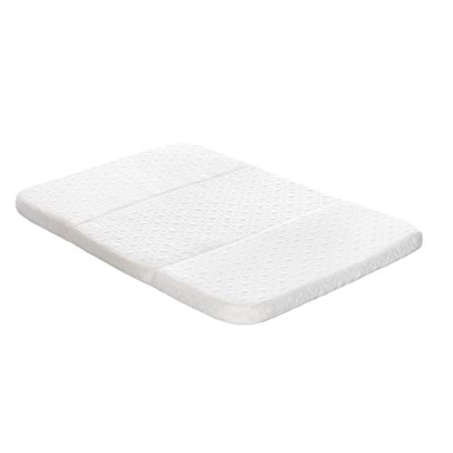 Milliard Tri-Fold Pack N' Play Mattress - Plus Free Bonus Carry Case