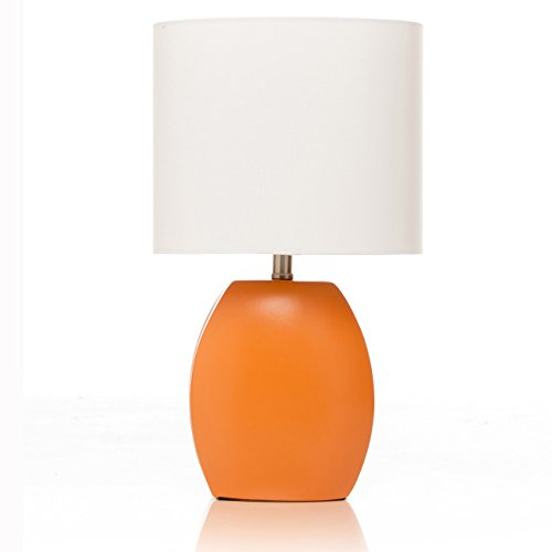 Sweet Potato Table Lamp, Orange