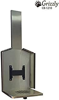 CUBIC Mini Stove - Grizzly - Mounts and Accessories (Stainless Steel Wall Mount w/Fresh Air Intake - CB-2277-SS)