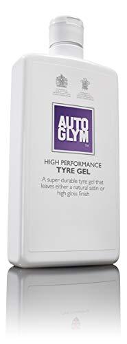 Autoglym Tyre Gel Lucido per Pneumatici ad Alto Rendimento 500 ml - Gel Nero Gomme per Finitura Lucida o Naturalmente Satinata