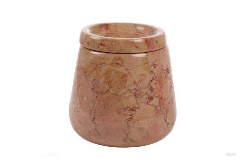 Yuchengstone Boîte en mordose de 3 Couleurs en marbre Massif en Pierre Naturelle Grand Format 15 x 15 x 16 cm 3,8 kg