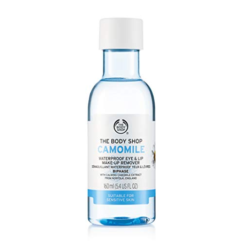 The Body Shop Camomile Waterproof Eye and Lip Make-Up Remover, 150ml