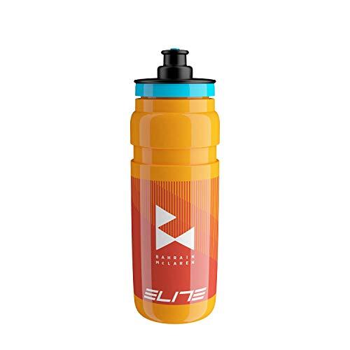 Elite Fly Team - Borraccia, Unisex - Adulto, Borraccia, Arancione, 750 ml