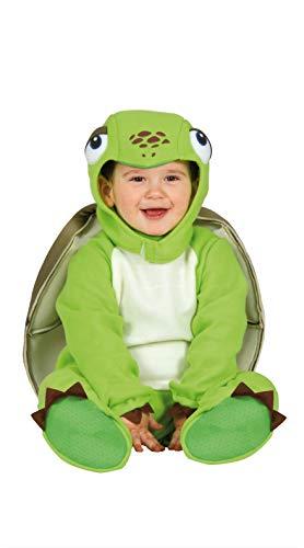 Baby Schildkröte - Kostüm für Kinder Karneval Fasching Party Tier Gr. 74 - 92, Größe:86/92