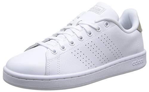 Adidas Advantage sportschoenen voor dames, wit