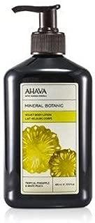 AHAVA(アハバ) ミネラル ボタニック ベルベット ボディローション #Tropical Pineapple&White Peach 400ml/13.5oz [並行輸入品]