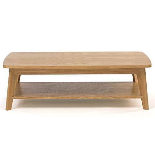 Paris Prix - Table Basse Design kensal 115cm Chêne
