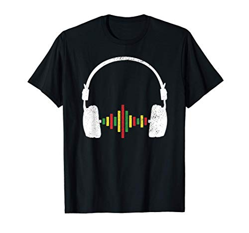 Reggae Rastafari Rasta Regalo Música Camiseta