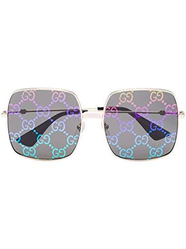 Gucci Moda De Lujo Hombre GG0414S003 Oro Metal Gafas De Sol | Temporada Permanente