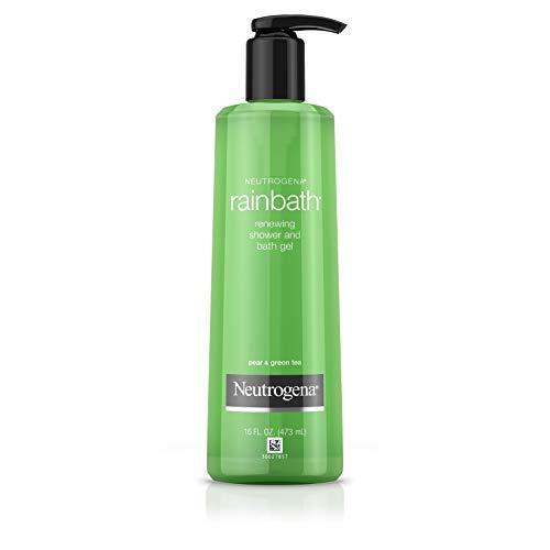 Price comparison product image Neutrogena Rainbath Renewing Shower And Bath Gel,  Moisturizing Body Wash and Shaving Gel with Clean Rinsing Lather,  Pear & Green Tea Scent,  16 fl. oz