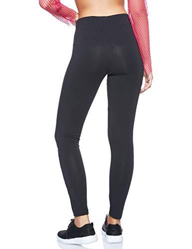 adidas Damen Essentials Linear Tights, Black/White, M - 2
