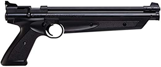 Crosman P1377 American Classic Multi Pump .177-Caliber Pneumatic Pellet Air Pistol, Black