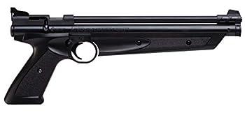 Crosman P1322 American Classic Multi Pump .22-Caliber Pneumatic Pellet Air Pistol Black
