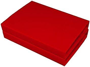 pour Lit 1 Personne 100/% Coton Gerald Wittmann Lot de 2 Drap Housse Jersey Stretch Rose//Flieder 90x190-100x200 cm