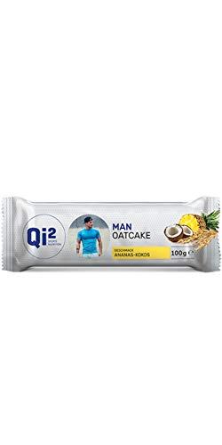 Qi² Man Oatcake Energieriegel Ananas-Kokos
