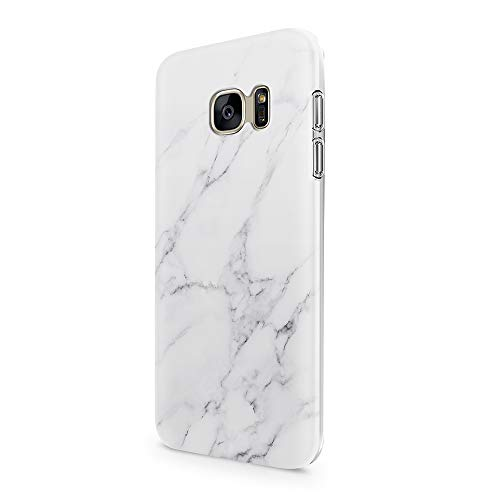 uCOLOR White Gray Marble Case for Samsung Galaxy S7 5.1' Slim Flexible TPU Protective Cover for Samsung Galaxy S7 (Not Fit for Galaxy S7 Edge)