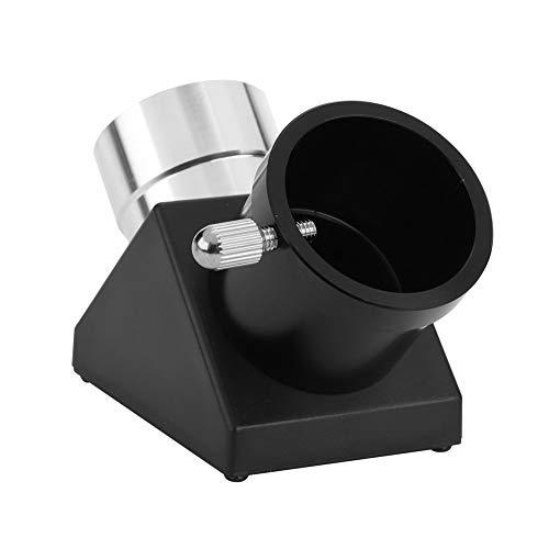 Delaman Diagonal Adapter, 1.25in 90 Degree Diagonal Adapter Erecting Image Prism Mirror for Refractor Catadioptric Telescope