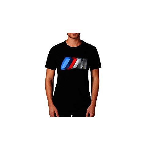 BMW Original Herren T-Shirt M Logo schwarz - Kollektion 2020/21 Größe L