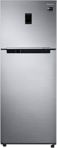 Samsung 394 L 3 Star (2019) Frost Free Double Door Refrigerator(RT39M5538S8/TL, Elegant Inox, Convertible, Inverter Compressor)