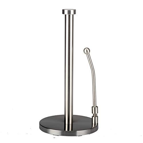 Toallero de Papel Toallero de Papel de Acero Inoxidable, Que Puede Contener Cualquier Tipo de Toalla de Papel Adecuado para Cocina y baño