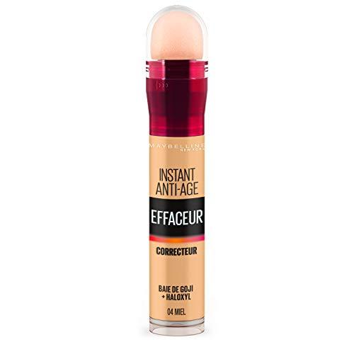 Maybelline New York - Anti-cernes/Correcteur Fluide - Instant Anti-Age L'Effaceur - 04 Miel - 6,8 ml