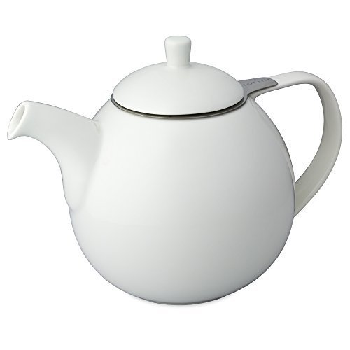 FORLIFE Curve 1,33l Teekanne mit Sieb - Weiß