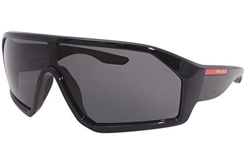 Prada Linea Rossa occhiale da sole PS 03VS 1AB5S0 Nero grigio taglia 36 mm Uomo