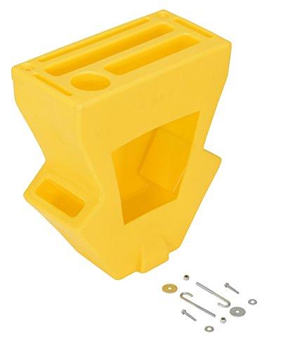 Vestil P-CADDY Yellow Economical Pallet Truck Caddy, Plastic, 16-1/8