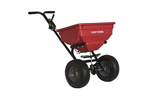Craftsman CMXGZBF450532 85Pound Push Broadcast Spreader Red/Black