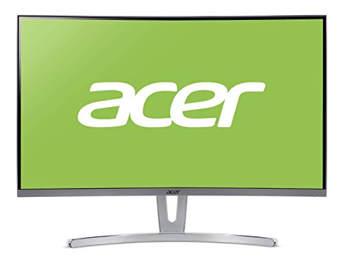 Acer ED273Awidpx 27 Inch FHD Curved 1800R Monitor, White (VA Panel, FreeSync, 144 Hz, 4ms, ZeroFrame, DP, HDMI, DVI)