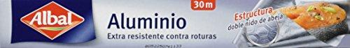 Albal - Papel aluminio - extra resistente contra roturas - 30 m...