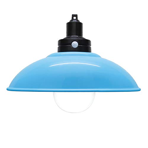 LEDペンダント型センサーライト乾電池式 屋内用明暗センサー付 単4電池3本使用