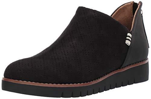 Dr. Scholl's Shoes Women's Insane Loafer, Black Microfiber, 8 M US