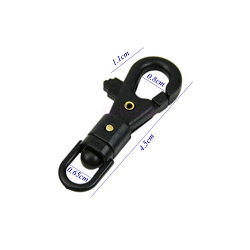 Drehbare Mini-Schnalle zum Aufhängen für Outdoor-Survival-Schlüsselanhänger, Verbindungszubehör