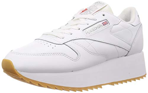 Reebok Classic Leather Double Damen Sneaker Weiß 39 EU