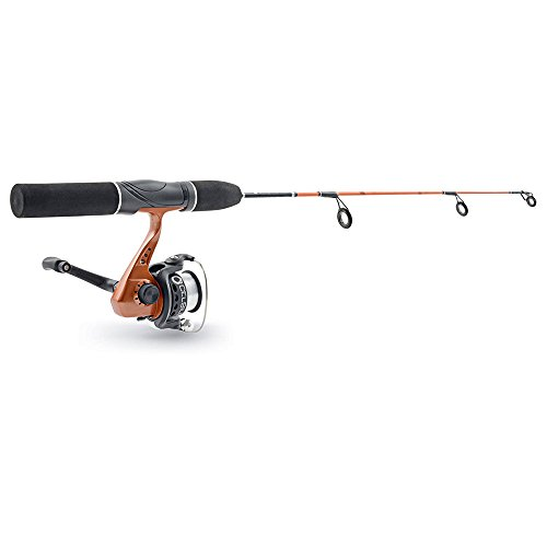 Celsius 24-inch Spinning Rod & Reel with 3 Ice Jigs Combo