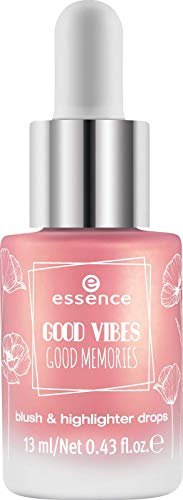 Essence Good Vibes Good Memories Blush & Highlighter Drops Nr. 01 bloom day by day Inhalt: 13ml