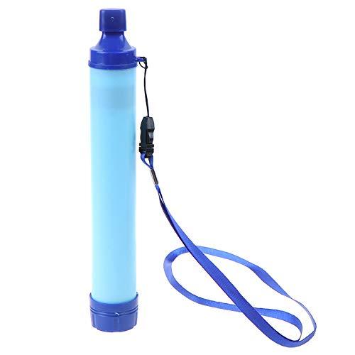 YSINOBEAR Filtro de agua personal portátil, 3 etapas 1000L Backpacking filtro de agua para senderismo, camping, viajes y preparación de emergencia