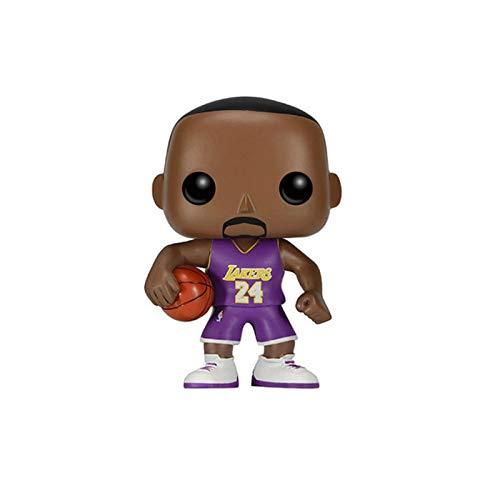 Funko NBA Figure Kobe Bryant #24 LA Away Chibi PVC Q Version Vinyl 10cm for Boy