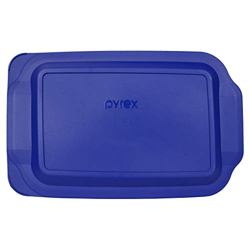 Pyrex 233-PC 3 Quart Blue 9' x 13' Baking Dish Lid - Will NOT Fit Easy Grab Baking Dish