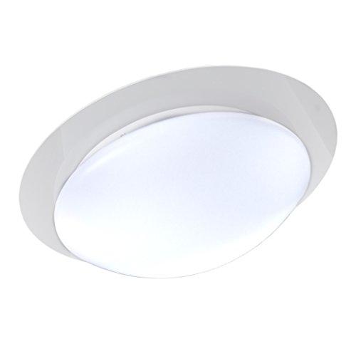 B.K.Licht I LED Deckenleuchte Ø36cm I Deckenlampe I Dimmbar I RGB Farbwechsel I 16 bunte Farben I 12W I 800 Lumen I Fernbedienung I IP44 I Badezimmer geeignet