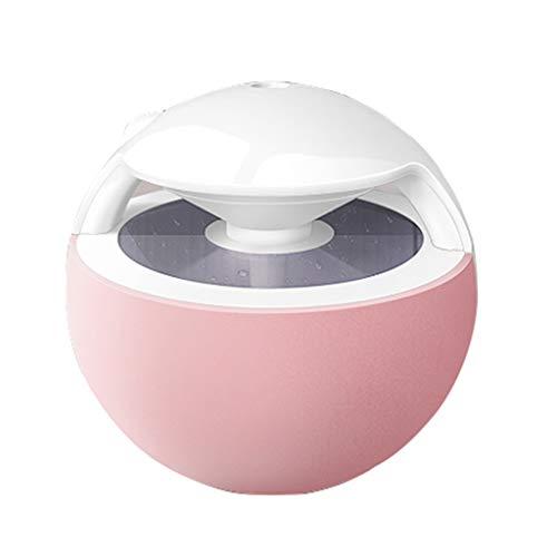 OCYE Cool Mist Luftbefeuchter, Nachtbeleuchtung, super Ultraschall 400ml leiser Betrieb, geeignet für die Verwendung in Babyzimmern, automatisches Schließen, leicht zu reinigen