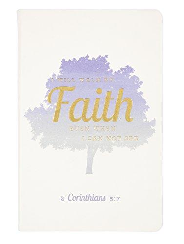 Eccolo World Traveler Christian Collection 5.5 x 8.5' Bible Journal, Faith Tree (CC401P)