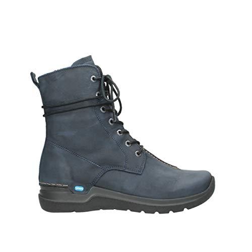 Wolky Comfort Boots Walla Walla - 11800 blau Nubukleder - 38