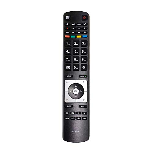 Vinabty RC5116 - Telecomando universale sostitutivo per modelli TV specifici Luxor Bush Digihome Finlux Linsar Telefunken HITACHI SCHAUBLORENZ