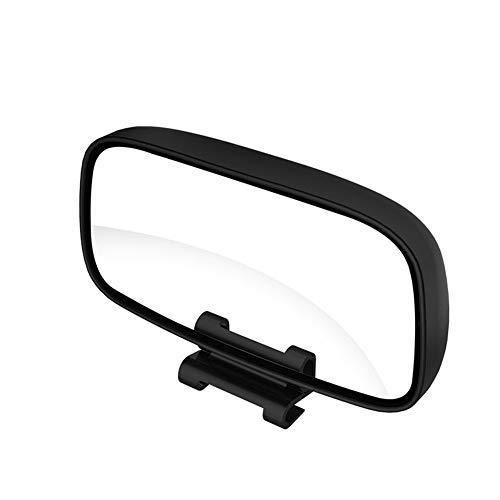Espejo de Punto Ciego del Coche de Gran Angular,Espejo de punto ciego para automóvil Ajustable Espejo Auxiliar Retrovisor Espejo retrovisor convexo para SUV RV Coche Camión