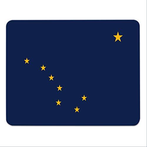Muismat 'Alaska' - Juneau - US deelstaat - vlag - VS - Amerika - 24x19cm