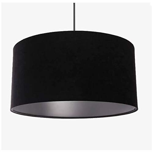 Suspension Argent noir
